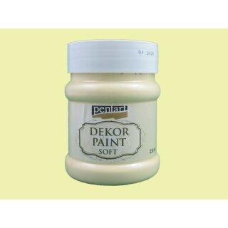 Soft Dekor Farbe Gelb 230 ml