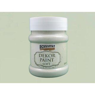 Soft Dekor Farbe Moosgrün / lichen green 230 ml