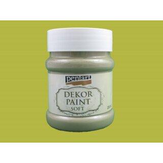 Soft Dekor Farbe Grüngelb / yellowish green 230 ml
