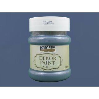 Soft Dekor Farbe Indigo blau 230 ml