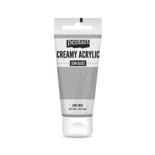 Pentart Creamy Acrylic Semi Gloss Hellgrau 60 ml