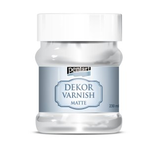 Dekor Varnish matt 230 ml