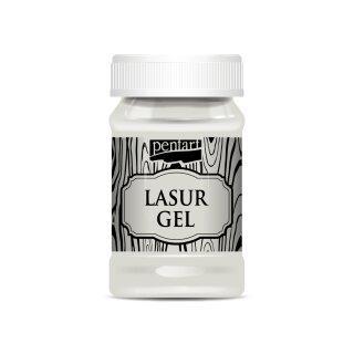 Lasur Gel 100 ml Weiß