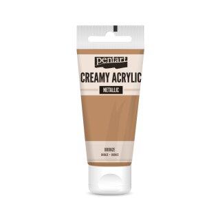 Pentart Creamy Metallic 60 ml Bronze