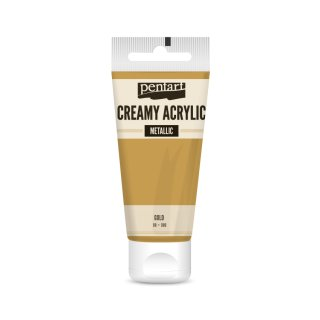 Pentart Creamy Metallic 60 ml Gold