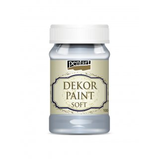 Dekor Paint Soft Shabbyfarbe Eisblau 100 ml