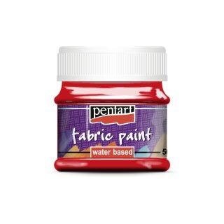 Stoffmalfarbe rot 50 ml Pentart