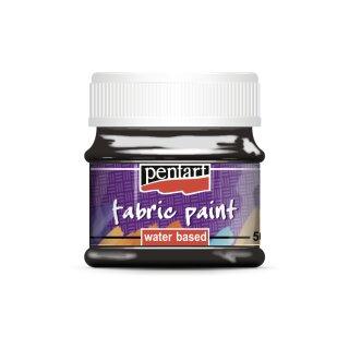 Stoffmalfarbe schwarz 50 ml Pentart