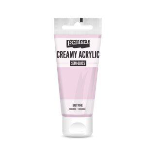 Pentart Creamy Acrylic Semi Gloss Babypink 60 ml