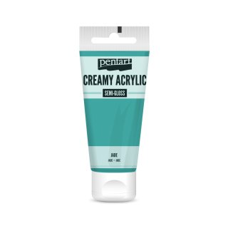 Pentart Creamy Acrylic Semi Gloss Jade 60 ml