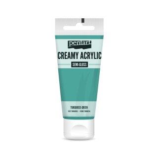 Pentart Creamy Acrylic Semi Gloss Türkis 60 ml