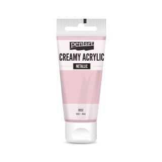 Pentart Creamy Metallic 60 ml Rosè
