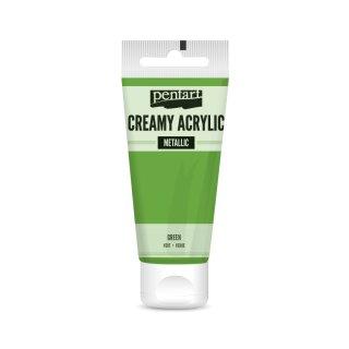 Pentart Creamy Metallic 60 ml Grün