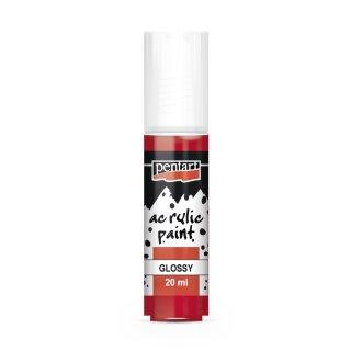 Pentart Acrylic Paint glänzend rot 20 ml