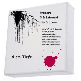 L+P Keilrahmen 3D 80 x 80 cm Premium