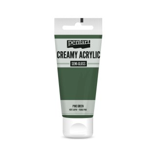 Pentart Creamy Acrylic Semi Gloss Piniengrün 60 ml
