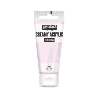 Pentart Creamy Acrylic Semi Gloss Rosa 60 ml
