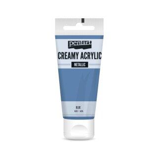 Pentart Creamy Metallic 60 ml Blau