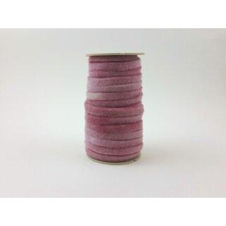 Filzband 3 mm x 1 cm Rosa, Rolle mit 16 m