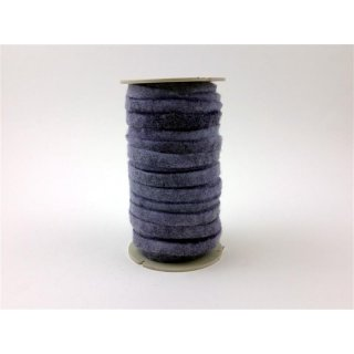 Filzband 3 mm x 1 cm Lila, Rolle mit 16 m