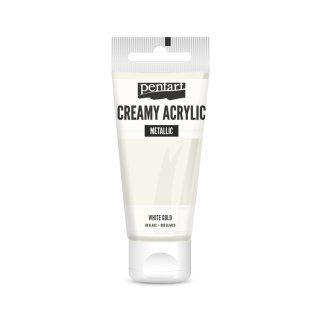 Pentart Creamy Metallic 60 ml Antikgold