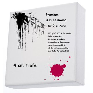 L+P Keilrahmen 3D 60 x 120 cm Premium