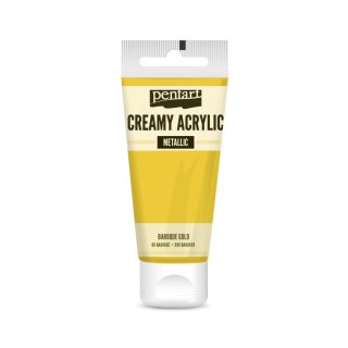 Pentart Creamy Metallic 60 ml Baroque Gold