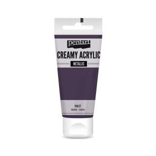 Pentart Creamy Metallic 60 ml Violet