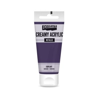 Pentart Creamy Metallic 60 ml aubergine
