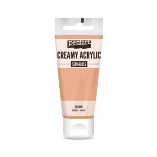 Pentart Creamy Acrylic Semi Gloss Salmon 60 ml