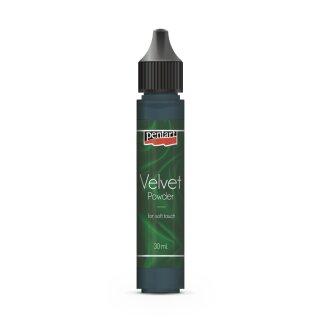 Velvet Pulver Samtpulver (Velour) 30 ml grün