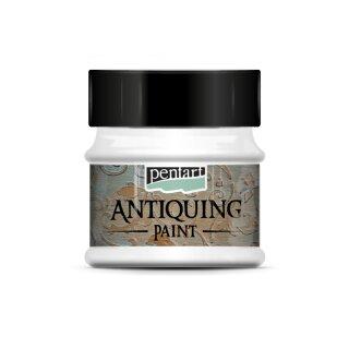 Antik Effektfarbe weiß 50 ml Antiquing