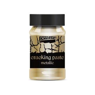 Krakelierpaste metallisch Pentart dark gold 100 ml