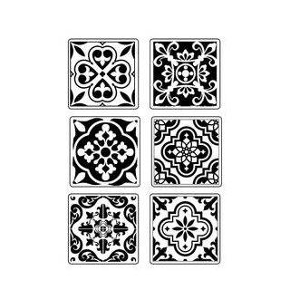 Stamperia Soft Mould A4 Azulejos Kacheln