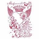 Schablone Stamperia 21 x 29,7 Royal Heart