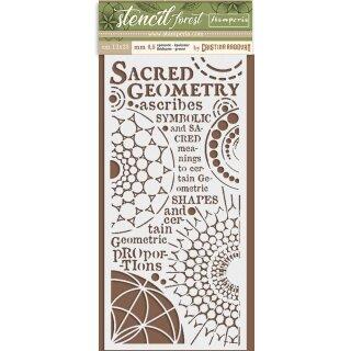 Schablone Stamperia 12 x 25 Sacred Geometry