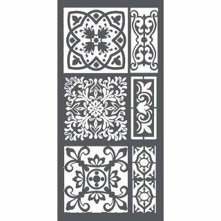 """Schablone Stamperia 12 x 25 """"Fliesen"""""""