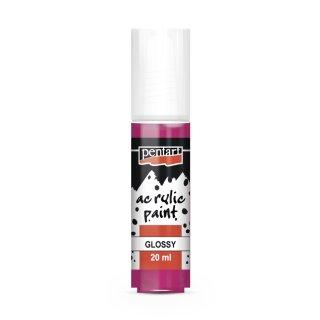 Pentart Acrylic Paint glänzend Magenta 20 ml
