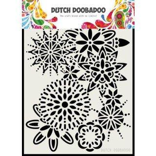Schablone Dutch Doobadoo A5  Mandala