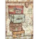 Stamperia Rice Papier  A4 21 x 29,7 cm Vagabund