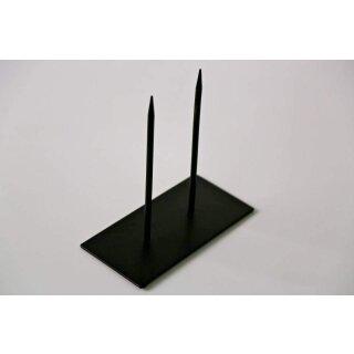 Skulpturenständer 10x20 2 Spitzen 0244